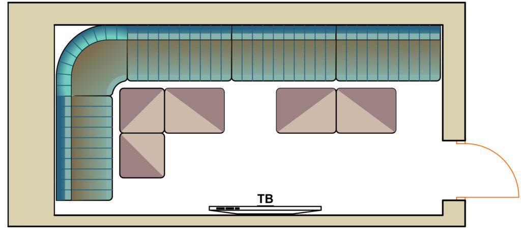 план комнаты Микрофон