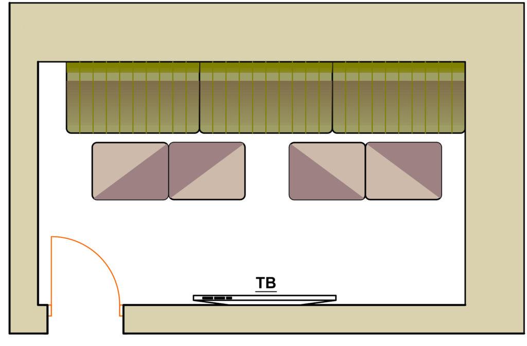 план комнаты Гитара